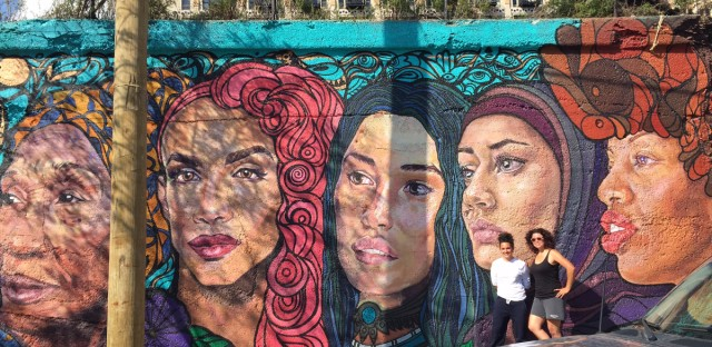 Pilsen Mural Of Underrepresented Women