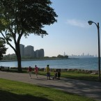 Promontory point in Hyde Park.