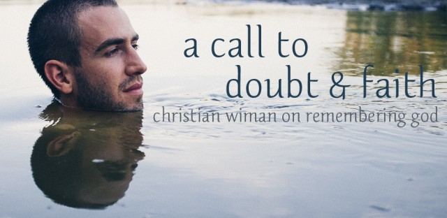 On Being : Christian Wiman — A Call to Doubt and Faith, and Remembering God Image