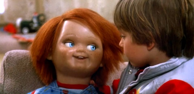 The killer doll Chucky from 'Child's Play' began his misadventures in the Brewster building located in Lincoln Park.