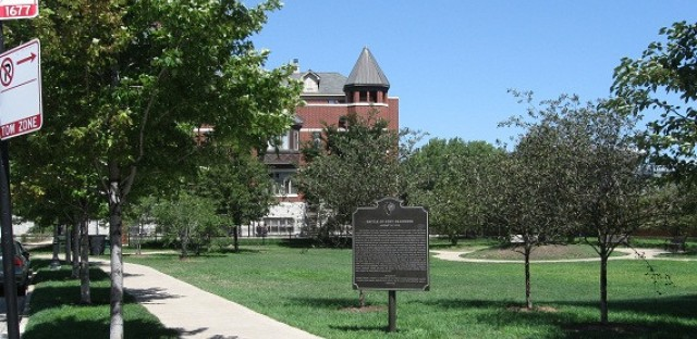 The Battle of Fort Dearborn Park