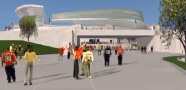 From ten years ago: A computer animated architectural tour of the new Soldier Field