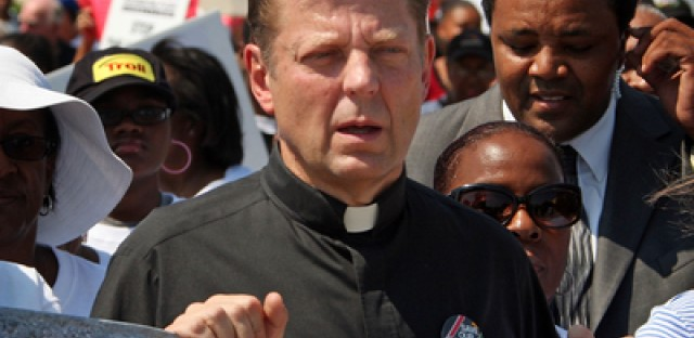 A former priest reacts to Father Pfleger's suspension
