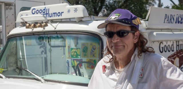 Johnny Macx leases an antique ice cream truck from Pars Ice Cream on Chicago's West Side. Macx and drivers like him will have some new opportunities to make sales, but they also must comply with regulations other food truck vendors can avoid.