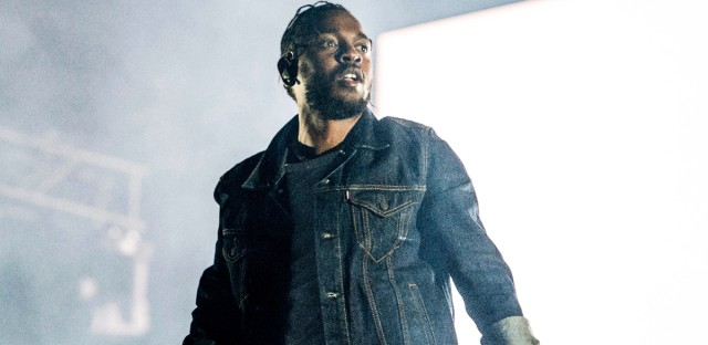 Kendrick Lamar, seen here performing in Quebec City, Canada on July 7, 2017, was nominated for seven Grammy Awards in 2018, including nods for record of the year and album of the year. (Photo by Amy Harris/Invision/AP)