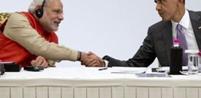 Obama visits India