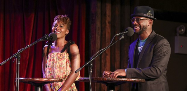 Ask Me Another : DeWanda Wise And Taye Diggs: She's Gotta Get Her Groove Back Image