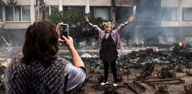 Exhibit Looks at War in Ukraine