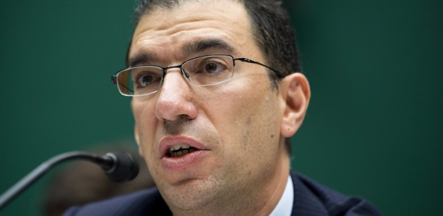 Andy Slavitt was in charge of running the federal agency that oversees the Affordable Care Act from 2015 to 2017. (Evan Vucci/AP)