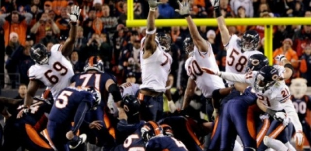 Bears get Tebowed in overtime