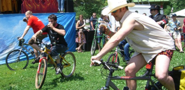 The Tour de Fat celebrates bike culture.