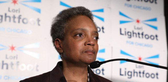Lori Lightfoot election party duplicate