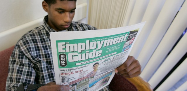 What kind of future can we envision for America with 54% of people between the ages of 18 and 24 unemployed?