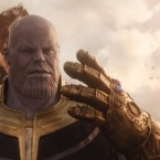 Ya Got The Stones For This? Thanos (Josh Brolin) blithely ignores Coco Chanel's advice on accessorizing — so you know he's evil — in Marvel's Avengers: Infinity War.