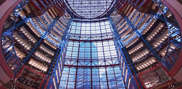 The Thompson Center at 100 W. Randolph St. in Chicago.