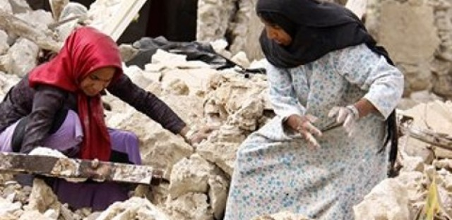 An earthquake hits Iran