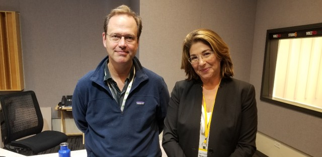 Jerome with author and activist Naomi Klein.