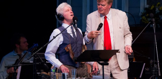 Behind The Scenes, And Sounds, Of 'A Prairie Home Companion'