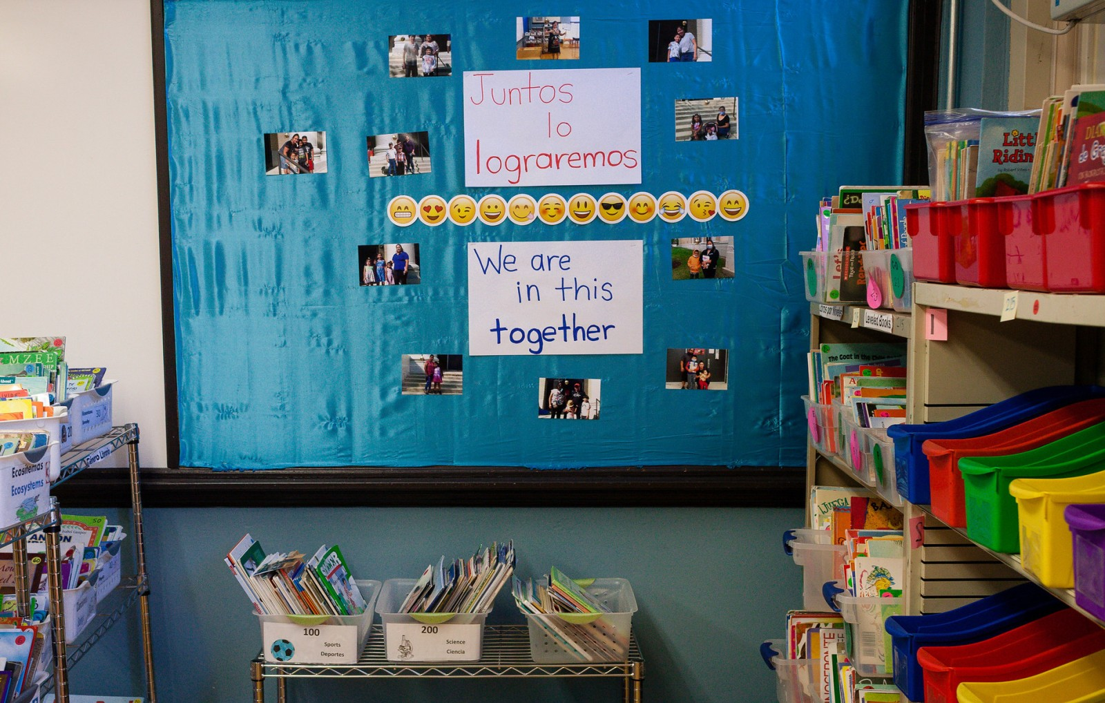We Are In This Together sign