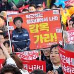 Park Geun-hye protest