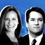 President Trump has whittled down his list of Supreme Court candidates to judges Amy Coney Barrett, Brett Kavanaugh and Raymond Kethledge. He could make his final decision as early as Friday. Photo: AP, Getty Images, WPPI; Illustration: Renee Klahr/NPR