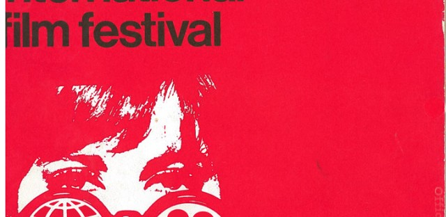 The Chicago International Film Festival Program, 1966. A sexier version. Click to enlarge.