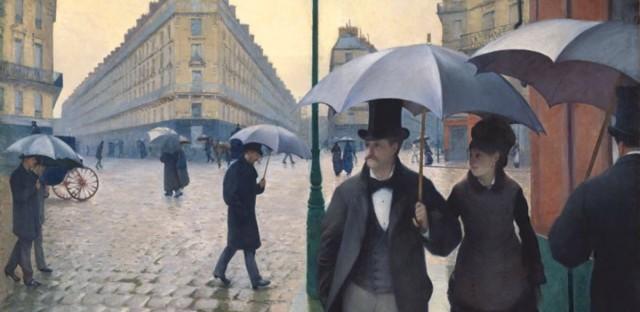 Paris Street; Rainy Day