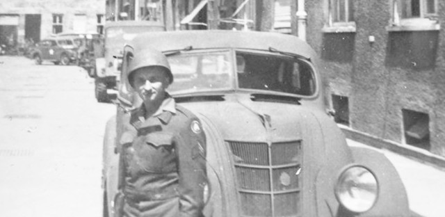 Ferencz served as a U.S. combat soldier during World War II.