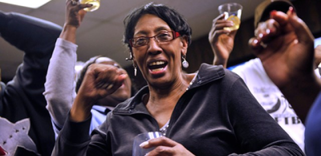 Video: Chicago's election night celebrations