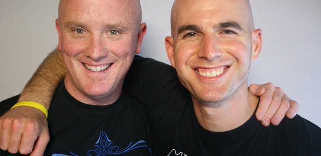 Joe Schneider and Jonny Imerman