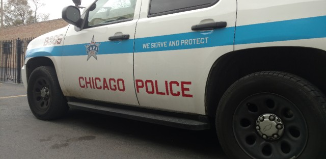 File photo of a parked Chicago police SUV.