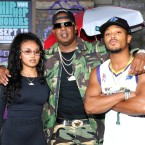 Master P at VH1's Hip-Hop Honors: The '90s Game Changers this week, in attendance with his daughter, Cymphonique Miller, and son, Romeo.