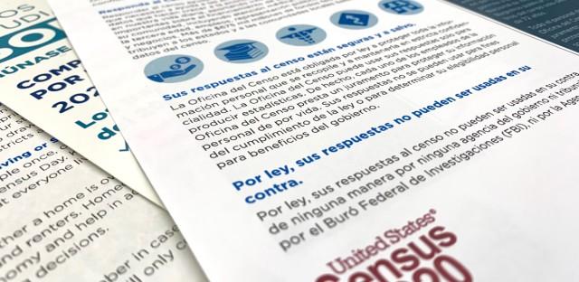 Census 2020 materials