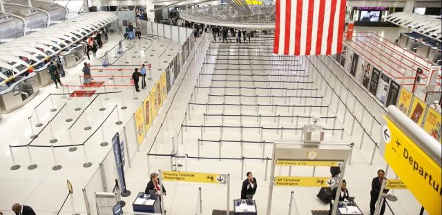 JFK Airport During Coronavirus Outbreak
