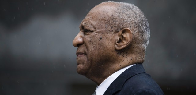 Bill Cosby exits the Montgomery County Courthouse after a mistrial in his sexual assault case in Norristown, Pa. earlier this month.