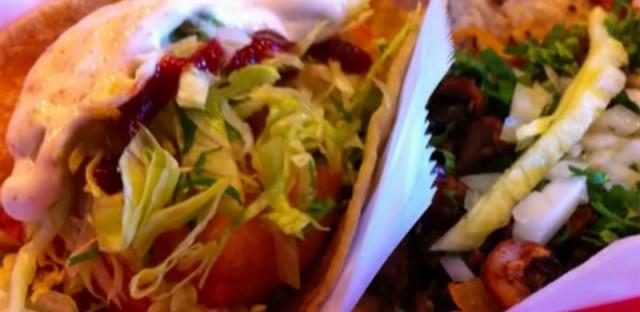 Something You Should Eat: Shrimp tacos from La Lagartija