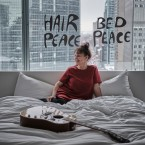 """The host and producer of Beat Latino on Vocalo Catalina Maria Johnson visited the hotel room where John Lennon and Yoko Ono had their legendary """"Bed-In for Peace."""""""