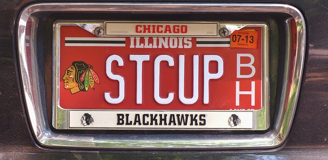 Stanley Cup Plate: Photo of the Day - June 25, 2013