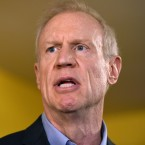 llinois Gov. Bruce Rauner speaks during a news conference, Wednesday, July 5, 2017, in Chicago.