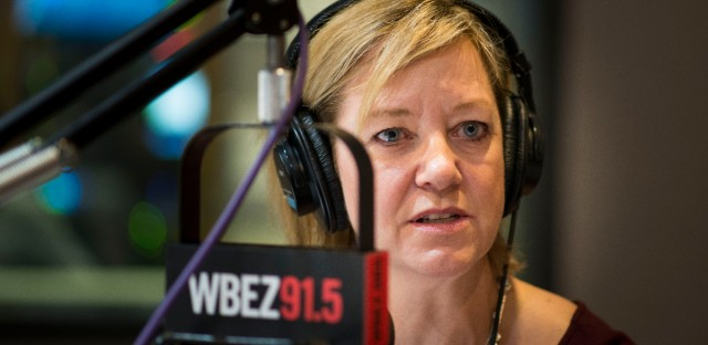 Illinois state Rep. Jeanne Ives at the WBEZ studios on Thursday, Feb. 1, 2018.