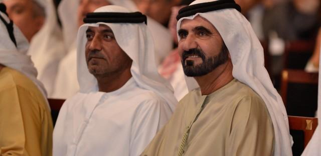 Sheikh Mohammed Bin Rashid Al Maktoum, Vice President and Prime Minister of the United Arab Emirates and Ruler of Dubai at the World Economic Forum's Summit on the Global Agenda 2010 held in Dubai, November 29, 2010.
