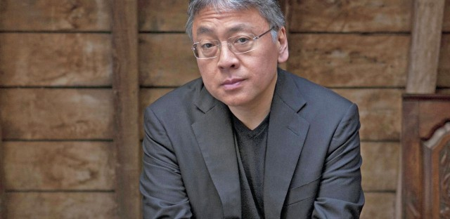 Kazuo Ishiguro is also the author of The Remains of the Day and Never Let Me Go.
