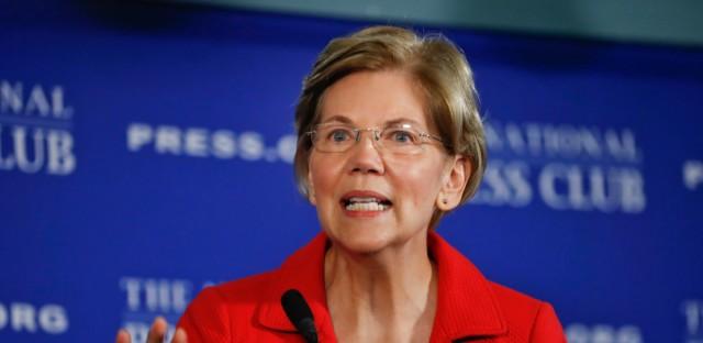 Elizabeth Warren Heritage Trump