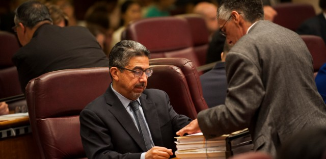 Chicago Ald. Danny Solis at City Hall on July 25, 2018.