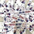 I Voted Wristbands 2