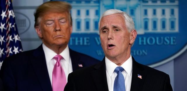 Mike Pence Trump Press Conference Coronavirus