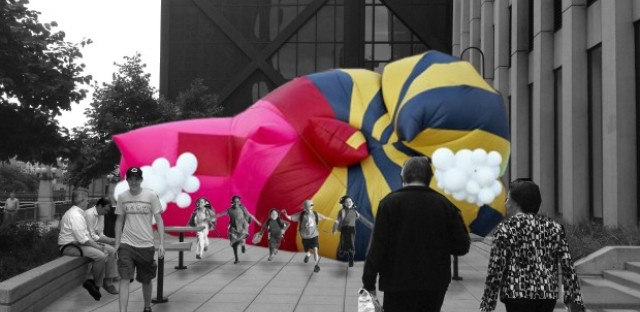 Chicago's Union Station will get indoor park and giant blob