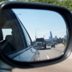 Chicago in your rearview mirror