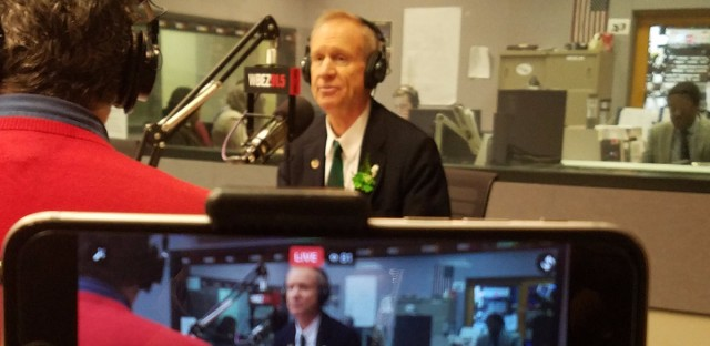 Gov. Bruce Rauner returned to 'Morning Shift' on Friday, March 10, to take questions from listeners.
