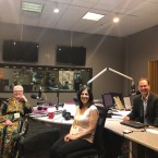 Live interview with (L-R) Rev. Martha Gillette from Church of the Holy Apostles in Wauconda, Illinois, and Suzan Sahori, founder of Fair Trade Bethlehem